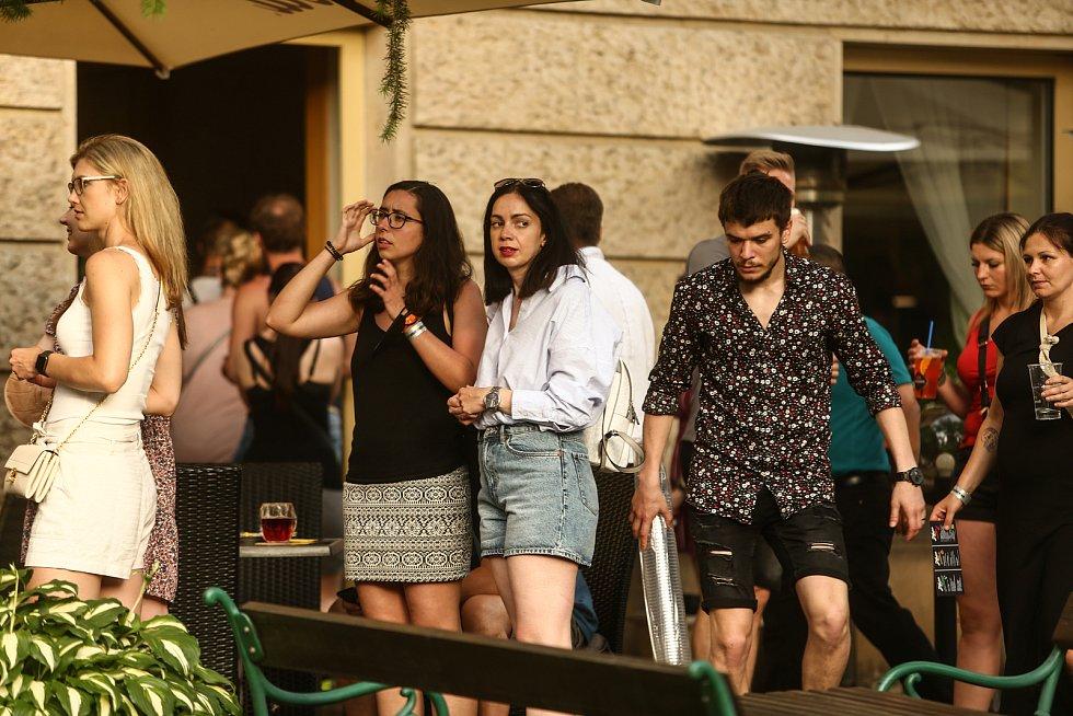 Sousedský festival v Praze v neděli 20. června 2021.