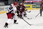 Čtvrtfinále play off hokejové extraligy - 1. zápas: HC Sparta Praha - Mountfield Hradec Králové 3:0 (1:0, 1:0, 1:0).