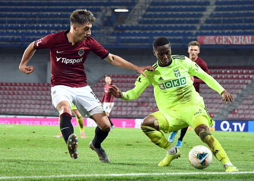12. kolo FORTUNA:LIGY: Sparta Praha - MFK Karviná 4:0 (1:0)