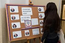 Studentské prezidentské volby.