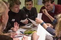 Debata studentů. Ilustrační foto.