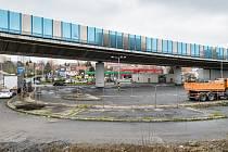 Místo, kde vznikne nová tramvajová smyčka na Zahradním Městě.