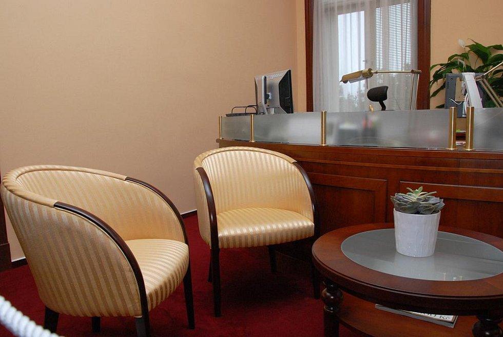 Den otevřených dveří v pracovně hejtmana, sekretariátu a zasedací místnosti krajské rady. Na snímku sekretariát.