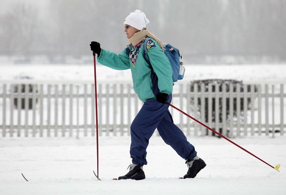 SkiPark na závodišti Velká Chuchle otevřen; čtvrtek 7. ledna 2015