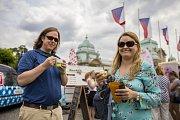 Prague Ice Cream Festival.
