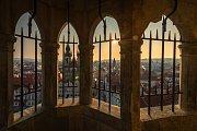 Staroměstská radnice - pohled z věže.