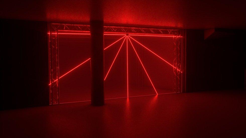 Vizualizace instalací pro Signal Festival 2019. Dreamlasser - Kooperativa.