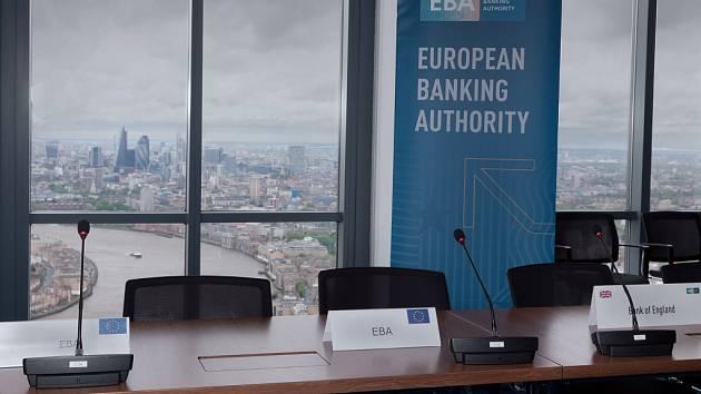 Evropský bankovní úřad EBA. Ilustrační foto.