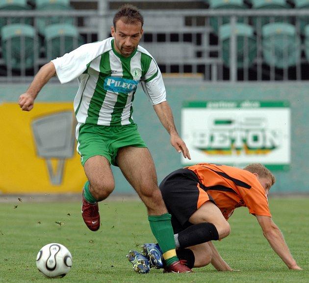 Hrdina druholigového derby. Pavel Macháček dal vítězný gól Bohemians Praha v zápase s Duklou.