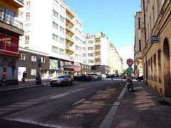 Ulice Františka Křižíka.