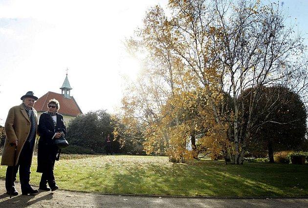 Tradiční vysazení stromu významnými lidmi v pražské Botanické zahradě proběhlo 26. října, tentokrát strom vysadili dva režiséři – téměř stoletý režisér Otakar Vávra (na snímku) a režisér Jiří Menzel.