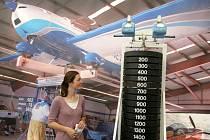 Výstava zvedacích strojů Sri Chinmoye – Zvedání světa srdcem jednoty.