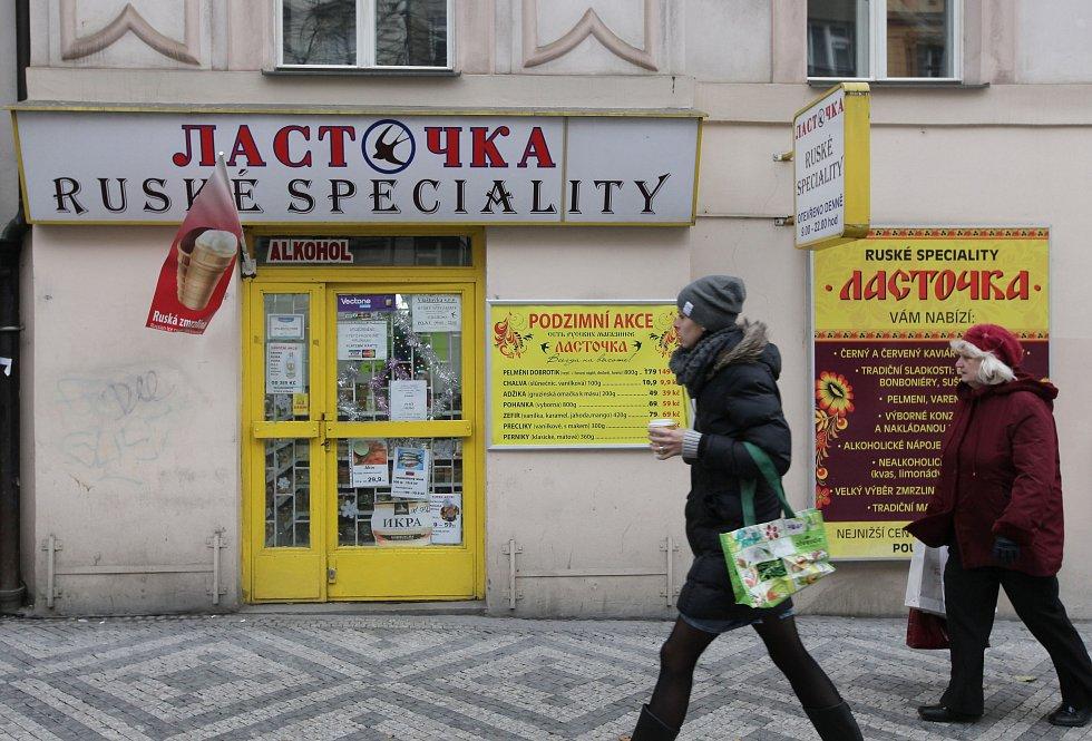 Image result for ruské obchody v praze