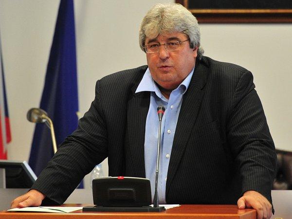 Josef Řihák, když rezignoval na funkci hejtmana Středočeského kraje.