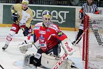Dohrávka 16. kola hokejové extraligy: HC Slavia Praha - HC ČSOB Pojišťovna Pardubice 1:6 (0:2, 0:4, 1:0).