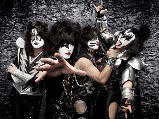 Americká rocková legenda Kiss.