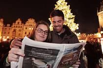 Česko zpívá koledy. Ilustrační foto.