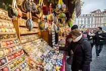Velikonoční trhy v Praze. Ilustrační foto.