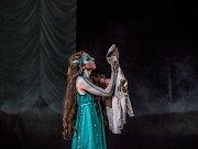 Zkouška baletu Malá mořská víla.