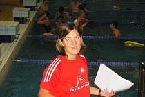 Blanka Holakovská, trenérka plavců SK Motorlet Praha