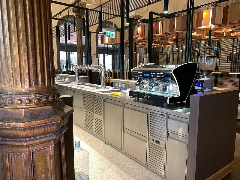 Nová restaurace má otevřít na konci srpna 2021.