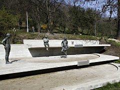 Park Folimanka v pražských Nuslích.