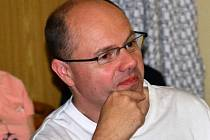 Veterinář Roman Kvapil.