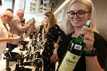 Prezentace vín v aule České zemědělské univerzity ve středu 11. srpna 2021.