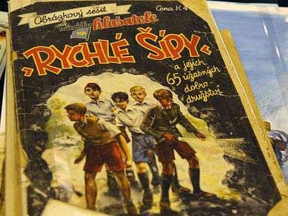 Autora legendárních Rychlích šípů přibližuje čtenáři knihou Stoletý hoch od Bobří řeky Jiří Zachariáš.