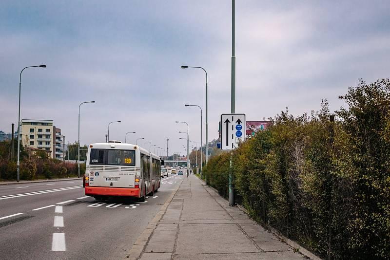 Praha má nový buspruh v Modřanské ulici.