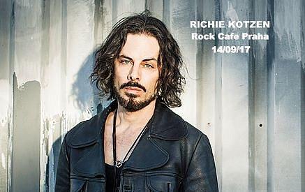 Richie Kotzen vystoupí v Praze.