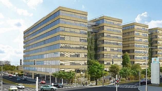 Výstavba druhé větší budovy s názvem Delta (na vizualizaci) bude rozdělená do dvou fází. V první etapě vznikne 18.000 metrů čtverečních kancelářských ploch, podobný objem pronajímatelné plochy nabídne i druhá fáze.
