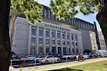 Nová budova Národního muzea, bývalé sídlo Federálního shromáždění.