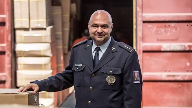 Generální ředitel celní správy Milan Poulíček.
