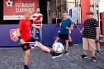 Fotbalové slavnosti na Smíchově si užila spousta fanoušků.