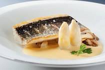 Chef Time Fest potrvá do 8. června. Na snímku mořský vlk Jiřího Stifta