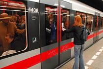 Pražské metro - ilustrační foto.