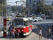 MHD v Praze- tramvaje.