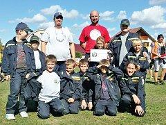 Sbor dobrovolných hasičů z Miškovic a jeho oddíl Mladých hasičů je hodně aktivní.