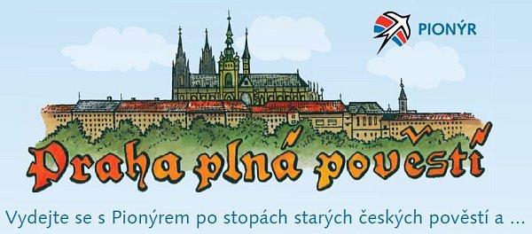 Praha plná pověsti.