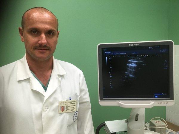 Urolog a zakladatel Nadačního fondu Muži proti rakovině Roman Zachoval.