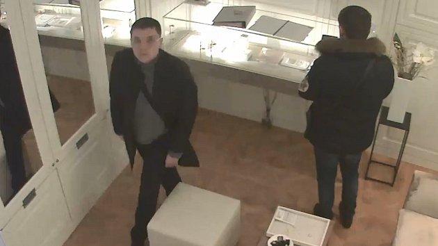 Krádež šperků za čtvrt milionu korun