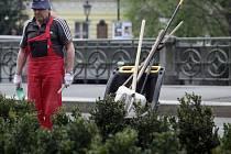 Jaro v Praze se projevuje vysazováním zeleně i tím, že Vltavu zaplní šlapadla