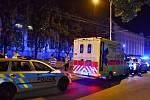 Na tramvajových kolejích v Podolí byl nalezen mrtvý muž.