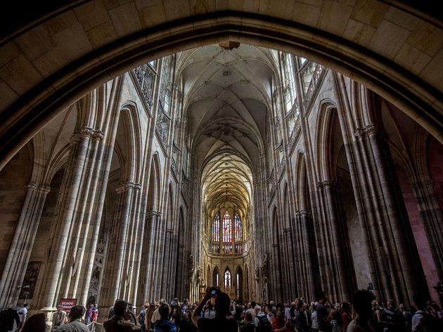 Katedrála sv. Víta.