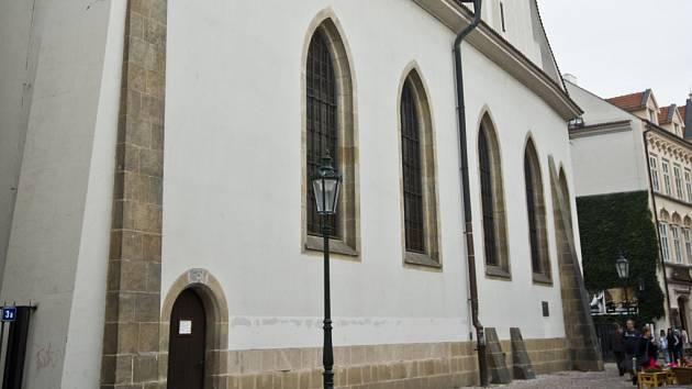 Betlémská kaple na Betlémském náměstí v Praze.