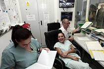 Ze slavnostního otevření nové jednotky intenzivní péče interního oddělení v Nemocnici Na Františku v Praze.