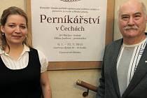 Z výstavy Perníkářství v Čechách v Senátu ČR.