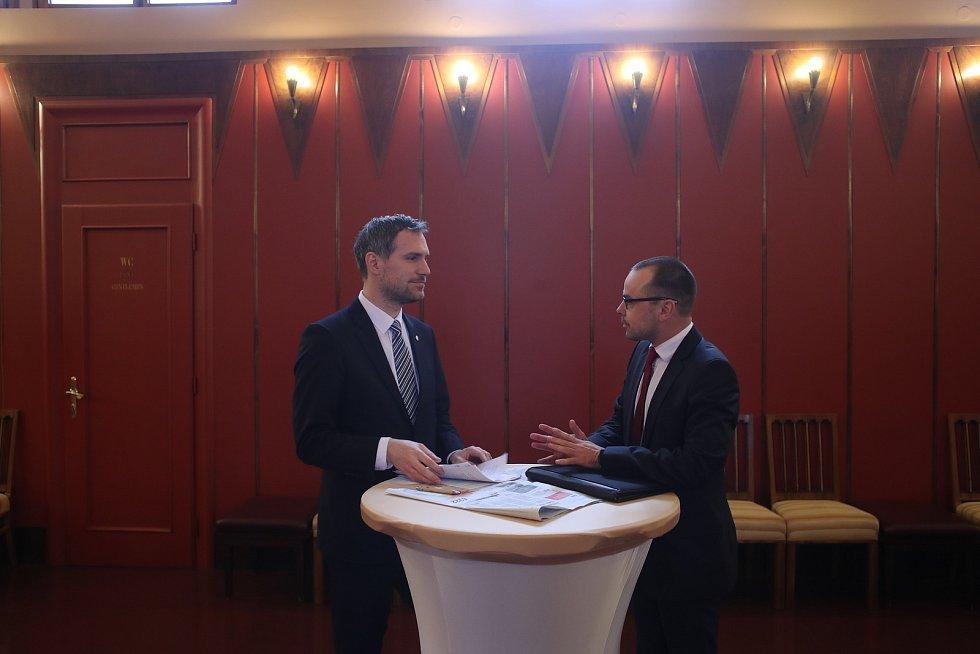 Setkání s primátorem Zdeňkem Hřibem