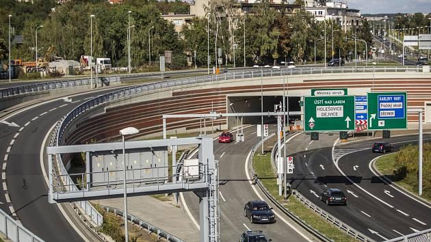 Tunelový komplex Blanka.